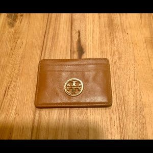 Tory Burch Leather Card Holder